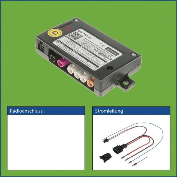 Phantomspeiseadapter incl. Anschlussleitung Strom